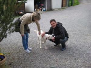 Лотта с родителями